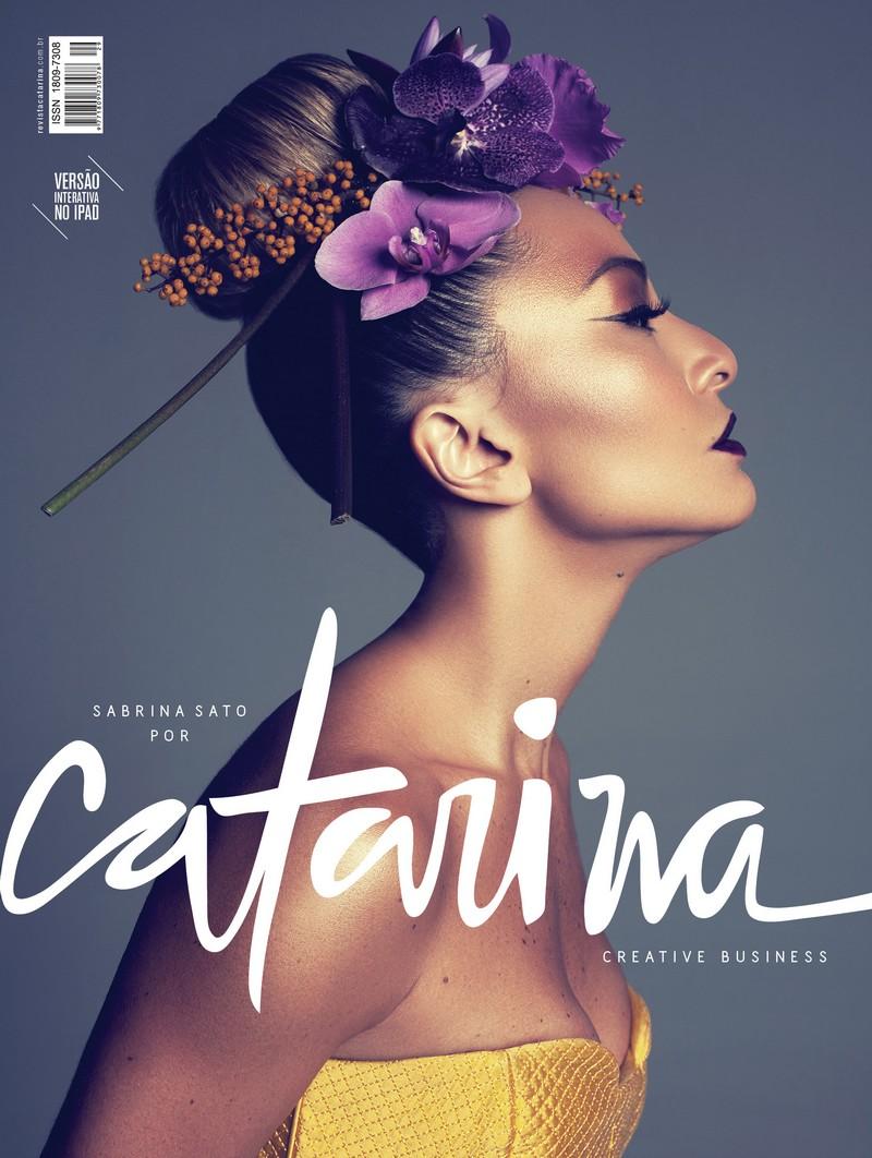 sabrina sato_revista catarina_panico na tv_carnaval_Vila Isabel_capa de revista fevereiro_2013