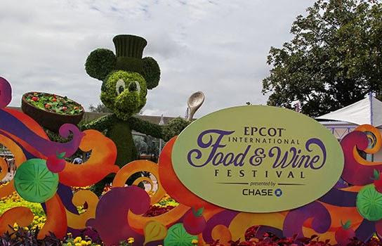 Epcot festival de comida e vinho 2014