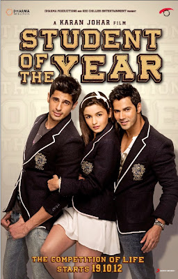 First Look Posters - Student Of The Year - Introducing Alia Bhatt, Varun Dhawan, Sidharth Malhotra