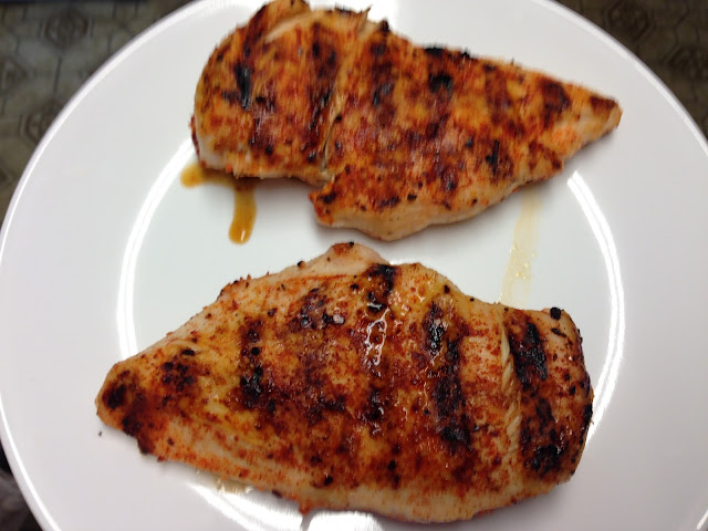 weber grilled chicken breast