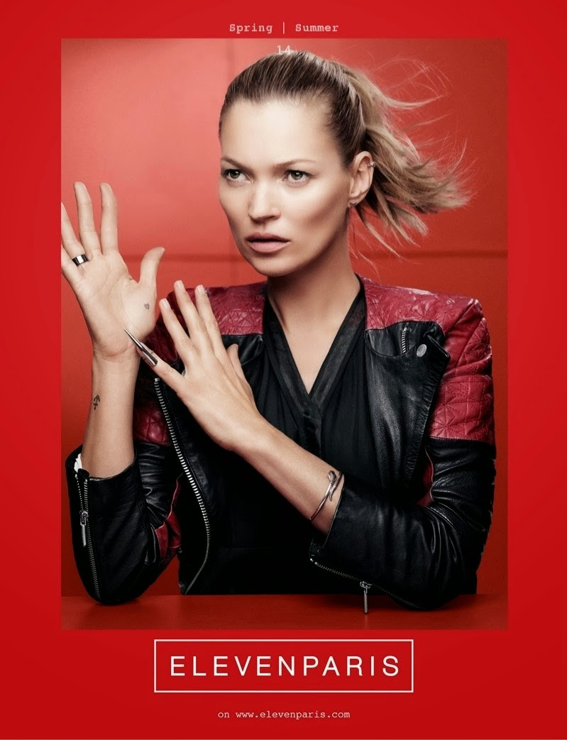 magazines the charmer pages kate moss for eleven paris spring 2014
