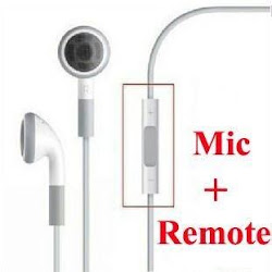 Apple Earphones Remote + Mic 12,90€