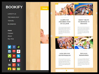 Bookify Blogger Template