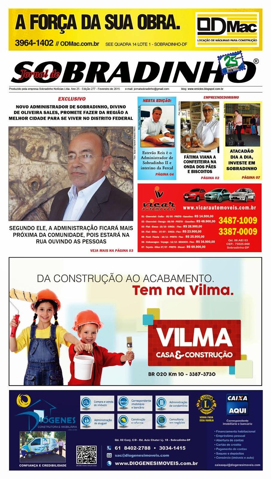 JORNAL VIRTUAL - FEVEREIRO - 2015 - Circula sempre dia 28 de cada MÊS