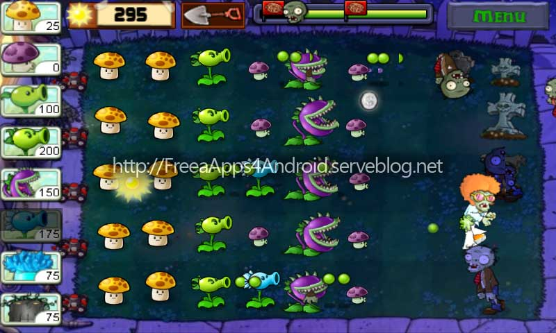 plants vs zombies for android free apk