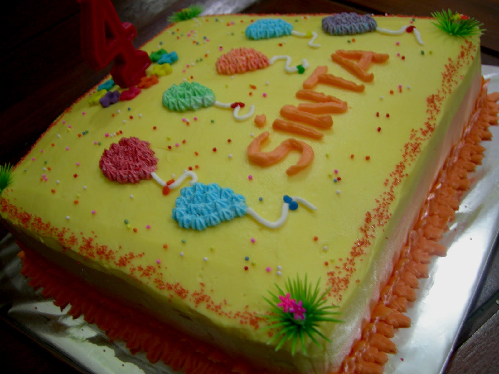 Cake Images Dow : Kuenya-Najmina.com: Simple BirthdayCake for Sinta