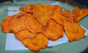 Yummy Baked Sweet Potato Chips