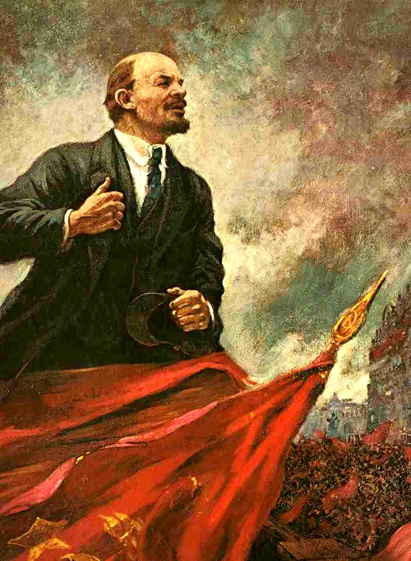 a description of the october revolution led by the bolsheviks under leadership of vladimir lenin and A painting of lenin consoling his mother after the execution of his brother vladimir lenin was the leader of the bolshevik movement, the first ruler of soviet russia and the dominant figure of the russian revolution lenin was born vladimir ilyich ulyanov in the town of simbirsk in 1870 the .