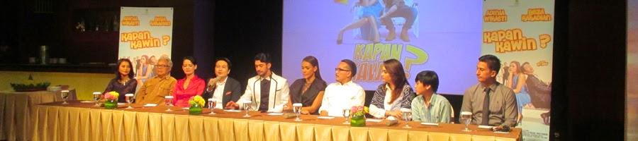 Media Gathering Film Kapan Kawin ?
