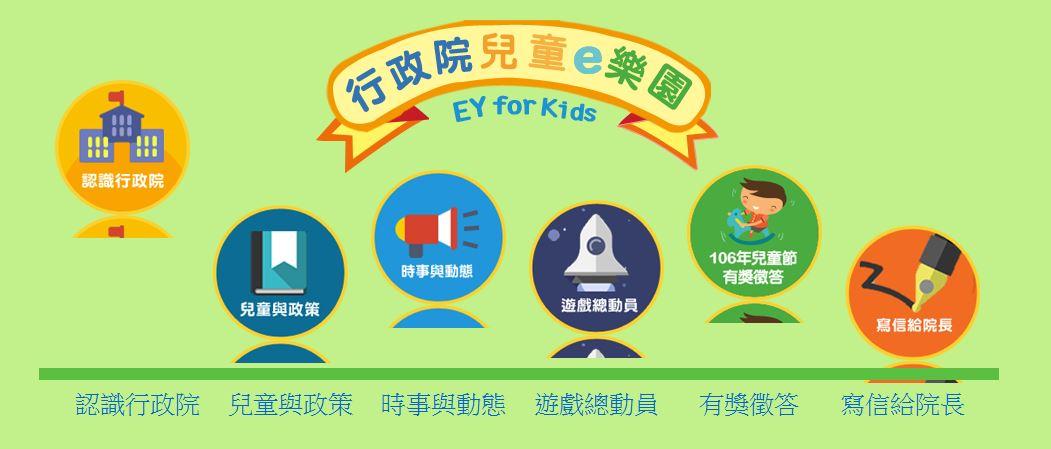 行政院兒童網站