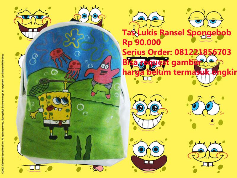 Tas Lukis Ransel Spongebob - Patrick