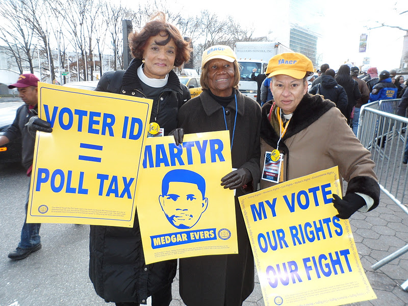 Advocates for Change: NAACP Stand for Freedom Voter Rights Rally ...