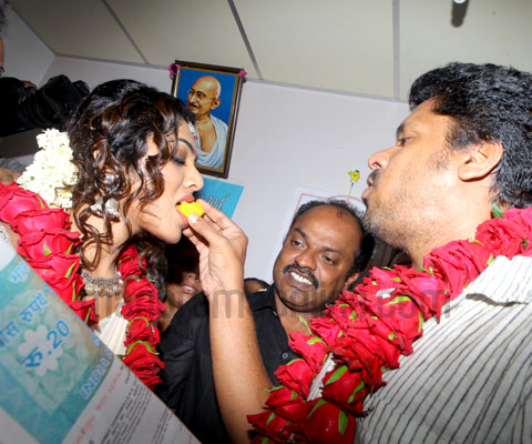 Rima Kallingal and Aashiq Abu marriage photos