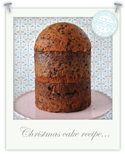 My birdcage shaped, gluten free Christmas Cake by Torie Jayne