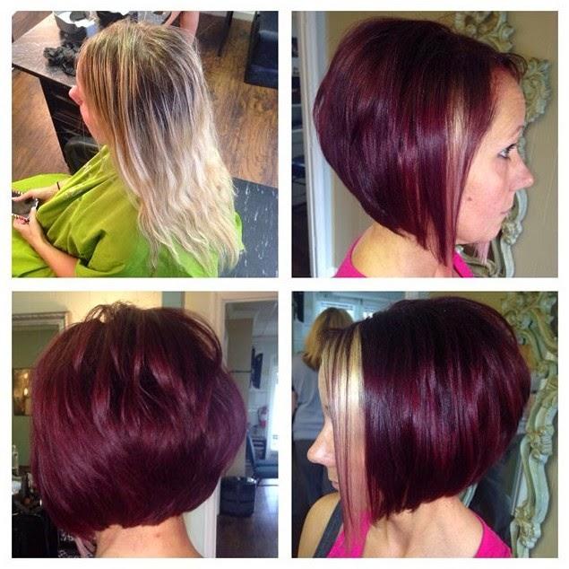 Stacked Bob Haircuts 2015
