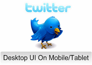 How To View Desktop Version Of Twitter On Mobile/Tablet