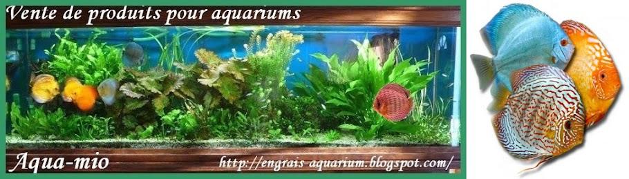 Engrais aquarium pour bacs plantes aqua-mio