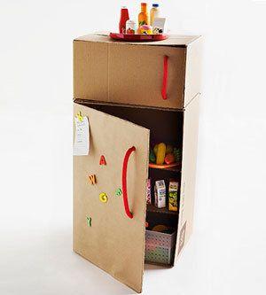 Con mis manos electrodomesticos con cajas juguetes - Cajas para cocina ...