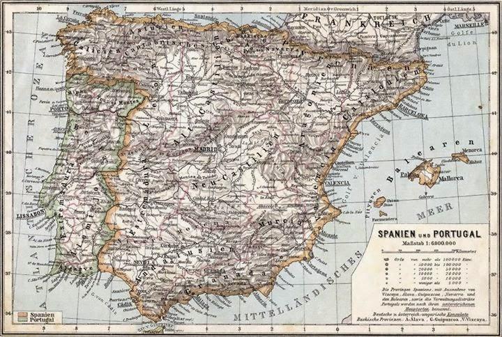 Spanien uno Portugal 1905