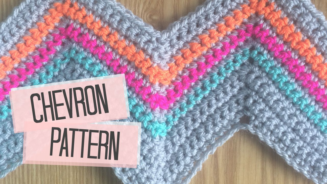 Crochet Patterns Chevron : This chevron pattern has to be one of my favourites! It has such an ...