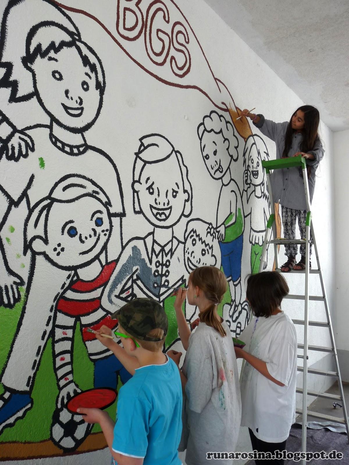 AuBergewohnlich Monster Wandgestaltung Kinderzimmer