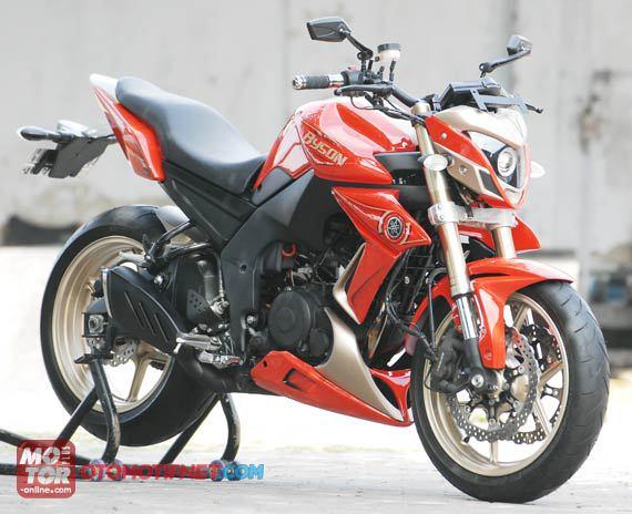 Variasi / Modifikasi Yamaha Byson Super Kren [FOTO]