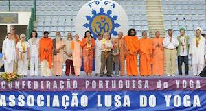 د/وفاء تلقى كلمة مصر وافريقيا والشرق الاوسط بيوم اليوجا العالمى بلشبونة - البرتغال 2011