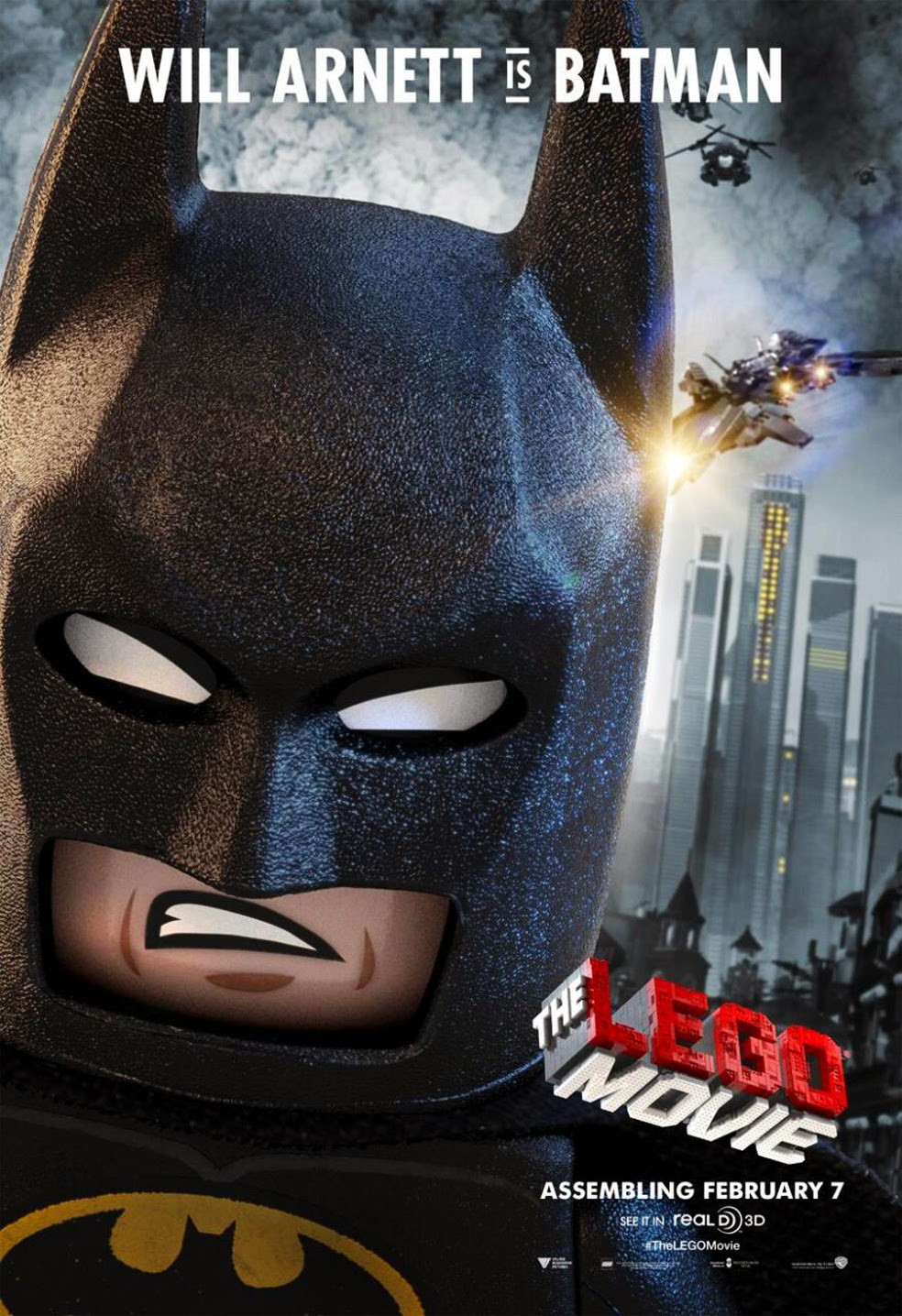 Lego Movie Batman HD Poster