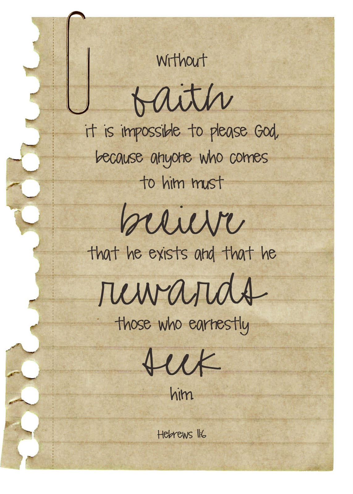 Hebrews 11 6 Pictures to Pin on Pinterest - ThePinsta