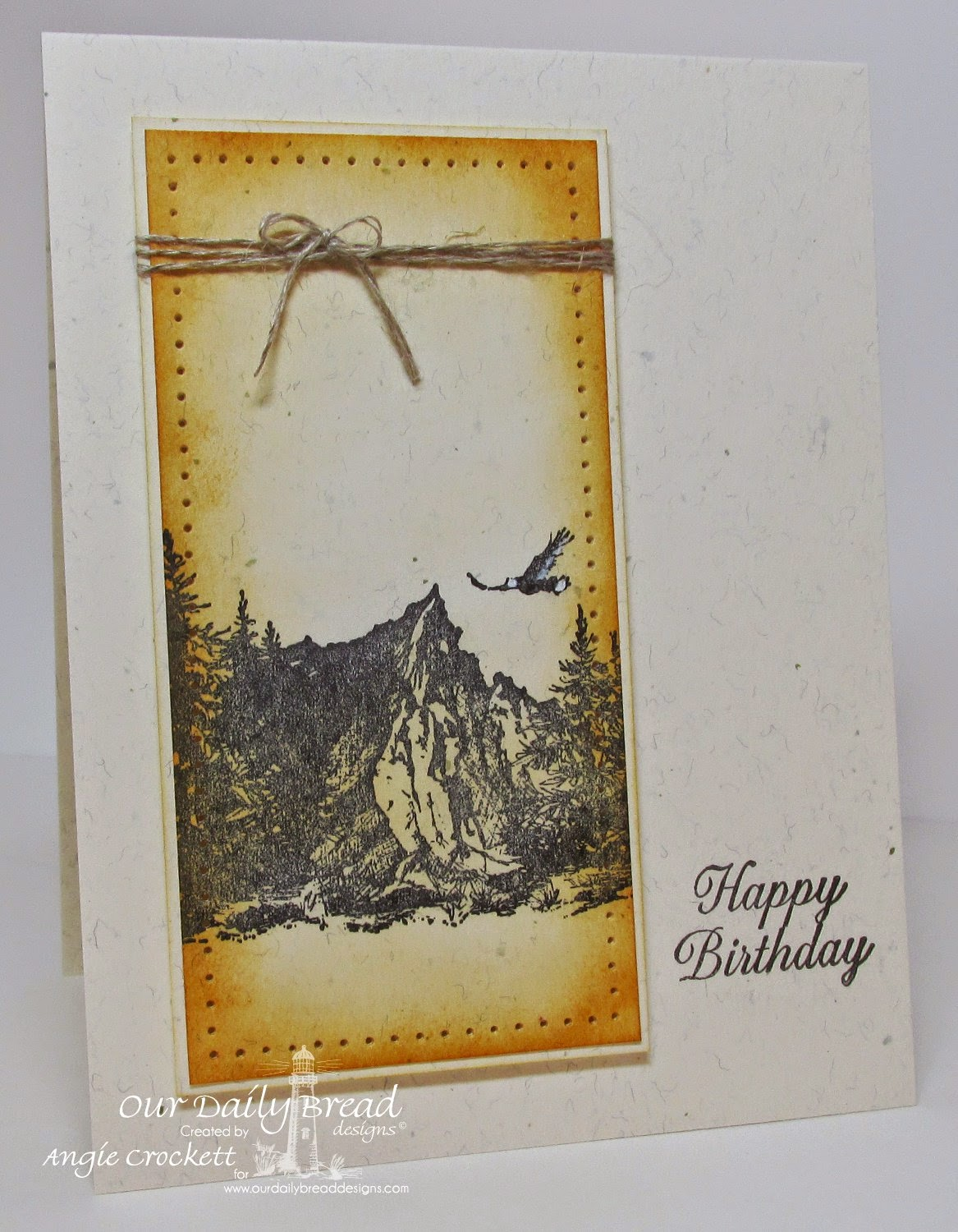 ODBD Keep Climbing, Ornate Border Sentiments, Card Designer Angie Crockett