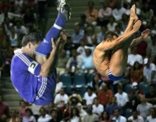John Terry, Photobomb, celebration, photoshop, diving, Tom Daley,