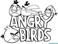 Angry Birds Menuju Kawanan Babi