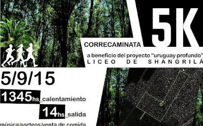 5k del Liceo de Shangrilá (Canelones, 05/sep/2015)
