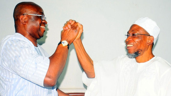 PDP Is Dead And Now Is Time To Face Reality - Aregbesola To Fayose