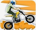 Game biểu diễn moto bay