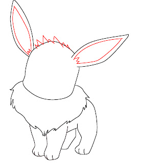 How To Draw Eevee Step 6