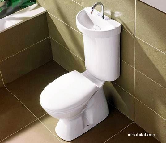 Accesorio lavamanos para tapa de mochila de toilet inodoro