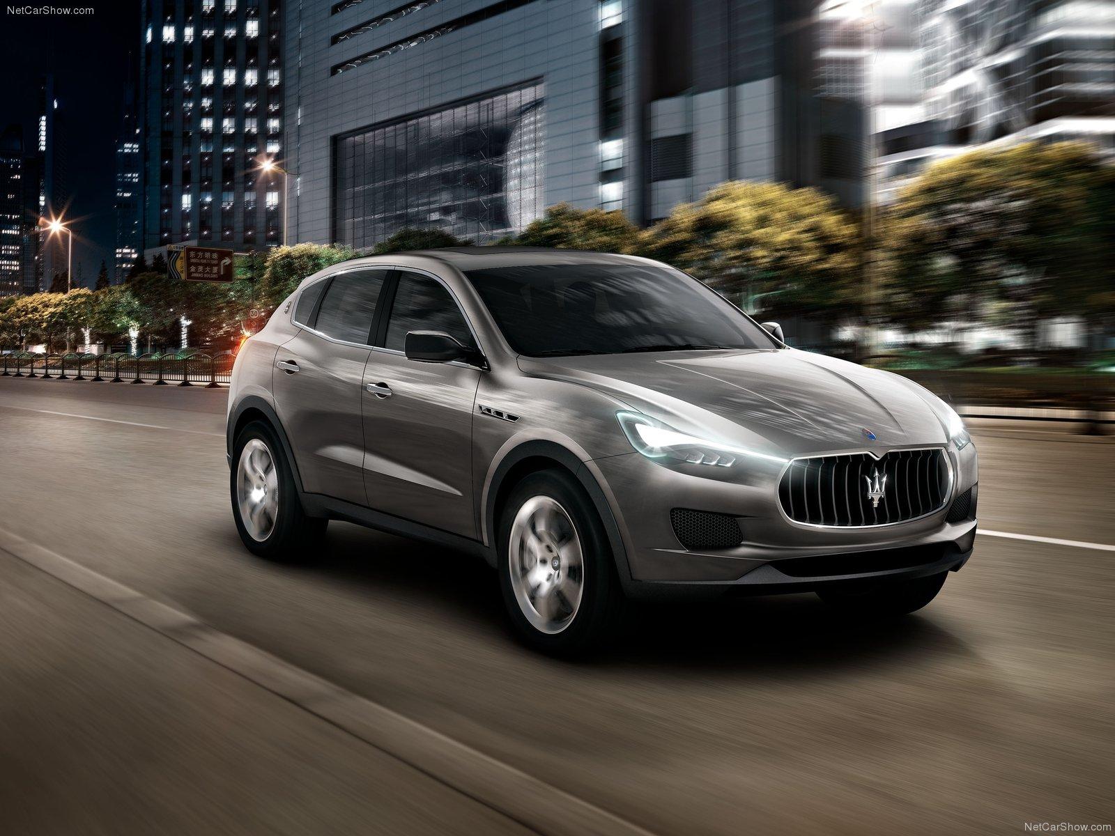 Hình ảnh siêu xe Maserati Kubang Concept 2011 & nội ngoại thất