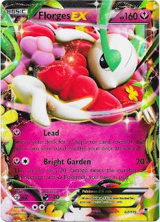 Florges EX Phantom Forces Pokemon Card