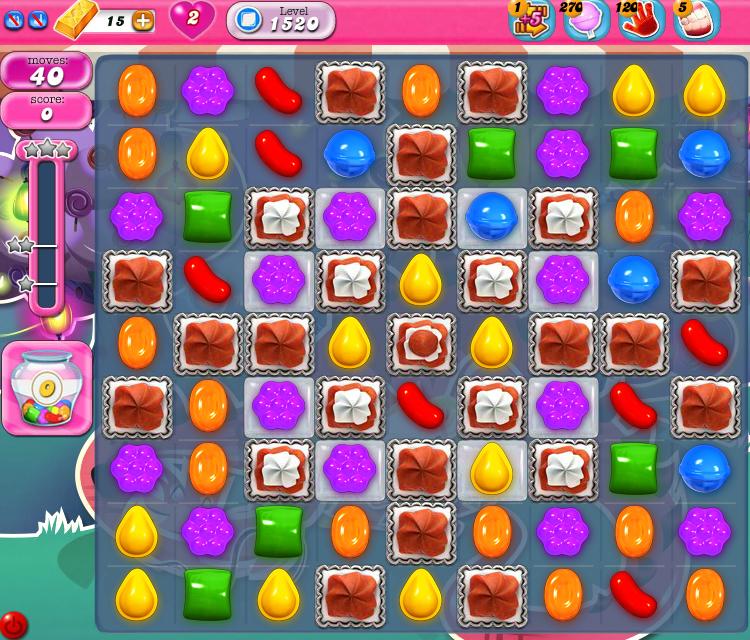 Candy Crush Saga 1520
