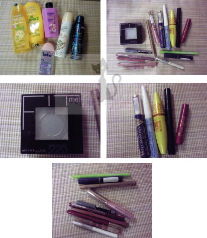 Kosmetikmord-Produkte