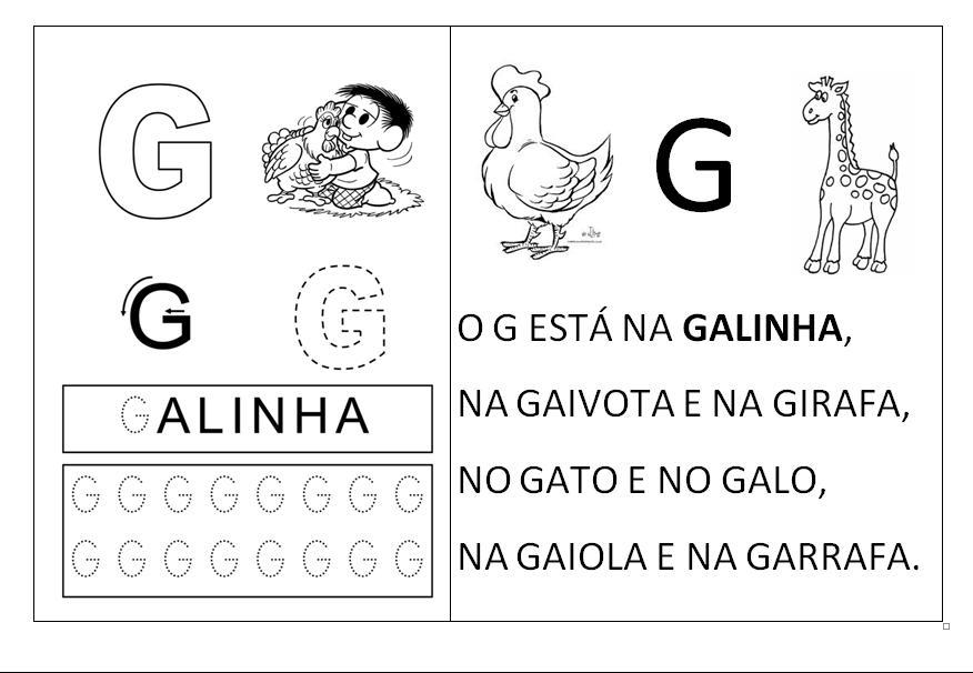 Atividades dos anos iniciais : Alfabeto com texto