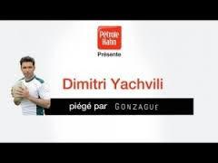 Gonzague piège Dimitri Yachvili (rugbyman)