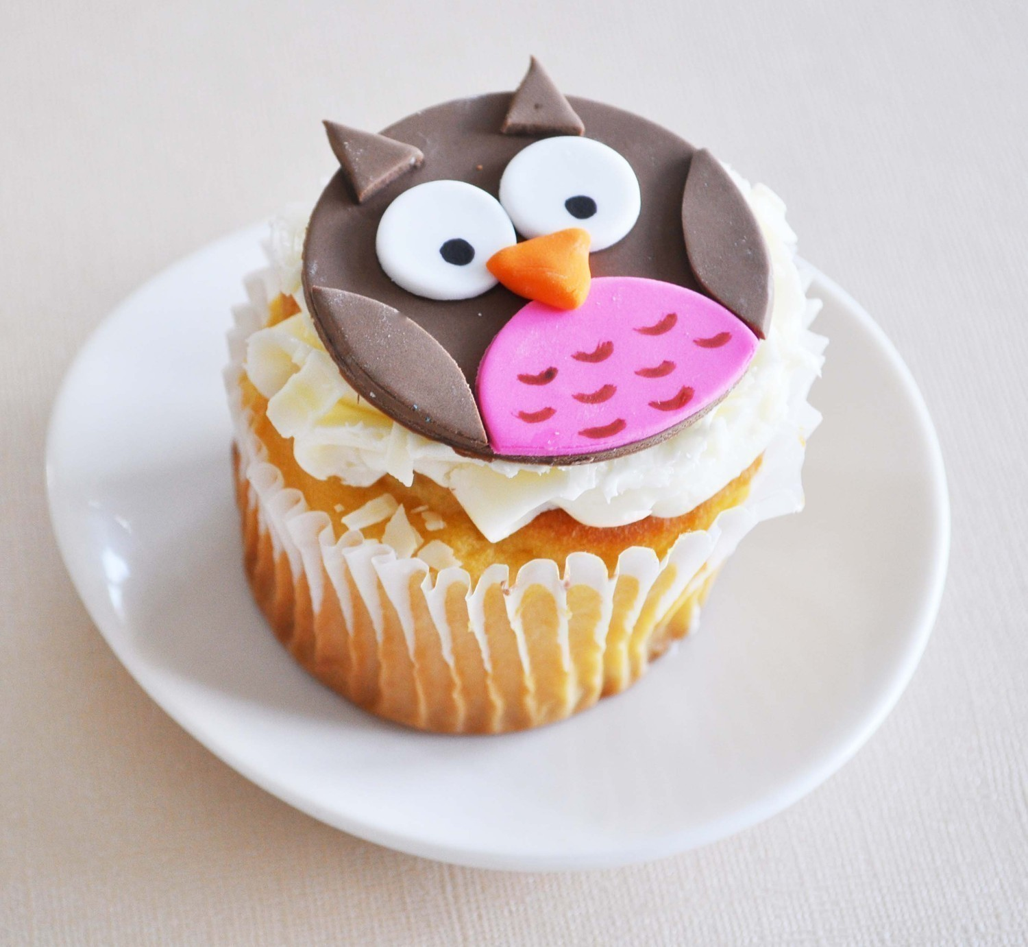 Owl Cupcakes For Baby Shower: Design Minded: Owl + Baby Shower