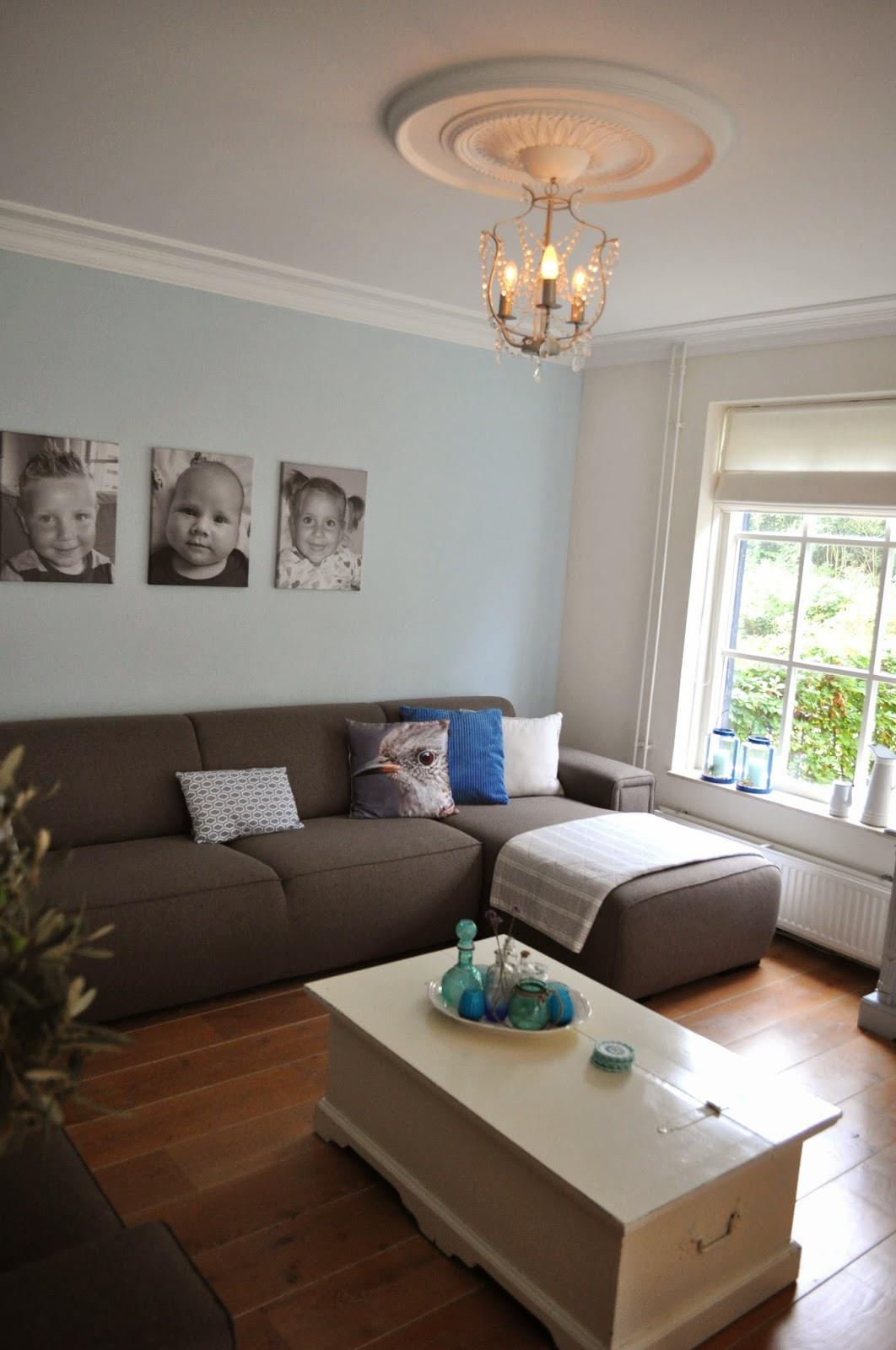 39 t bezige bijtje nieuw interieur kleur en granny dekentje - Kleur grijze ruimte ...