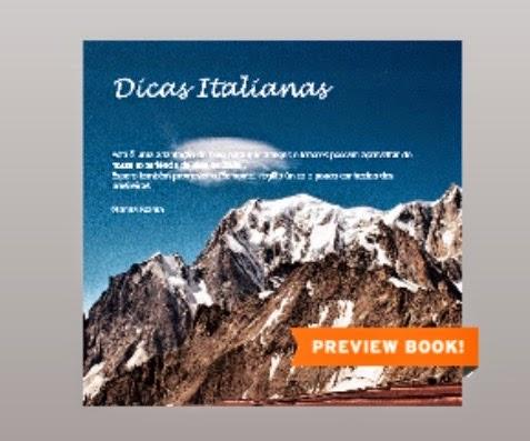 Dicas Italianas E-BOOK GRATUITO