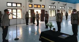 Sertijab Wakapolres Aceh Singkil