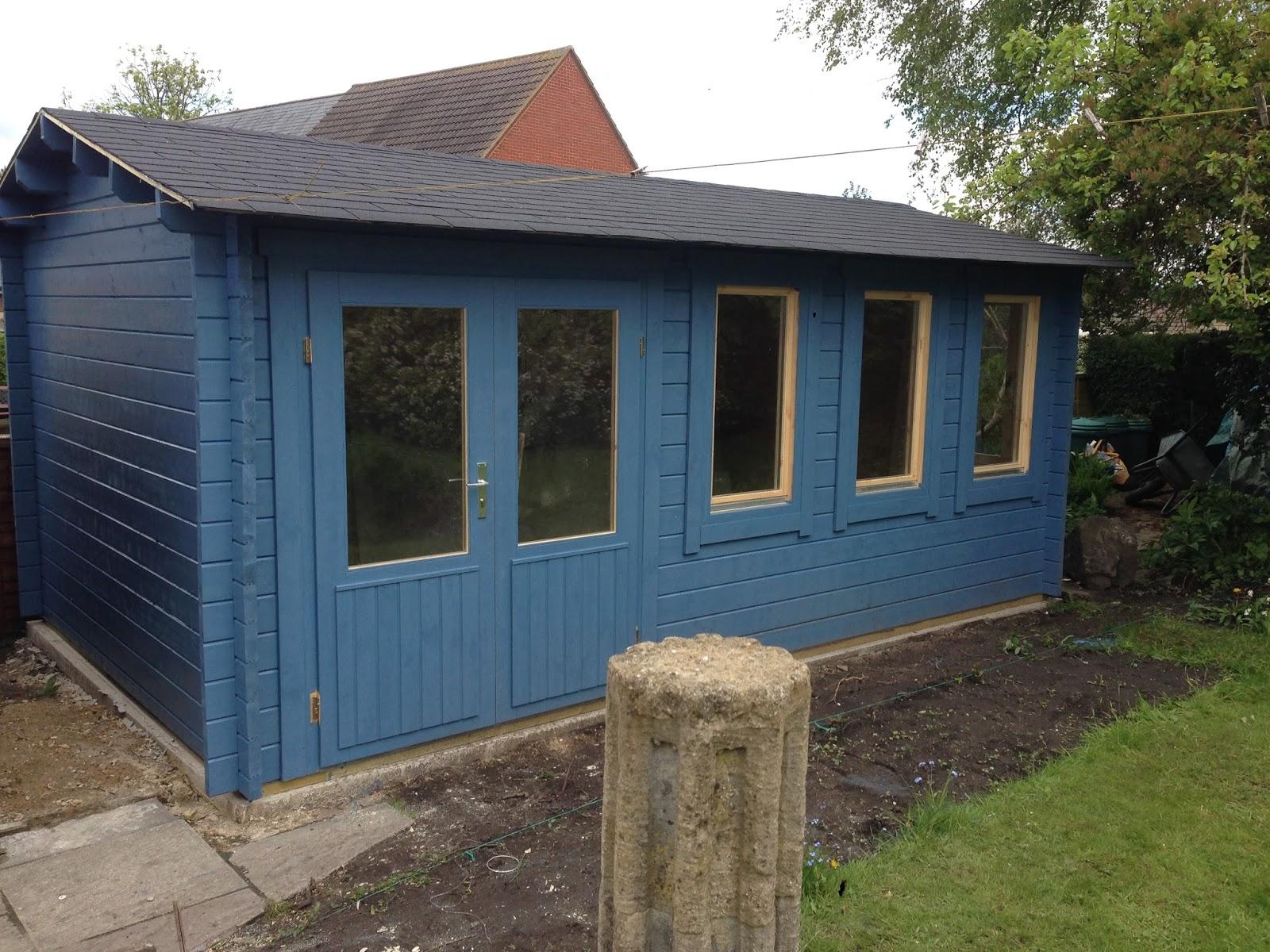 Warminster Log Cabins Bespoke Garden Workshop
