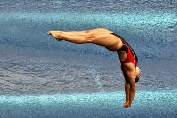 Pamela Ware wins first Canadian diving title