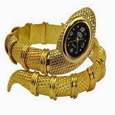 Reloj Brazalete Serpiente